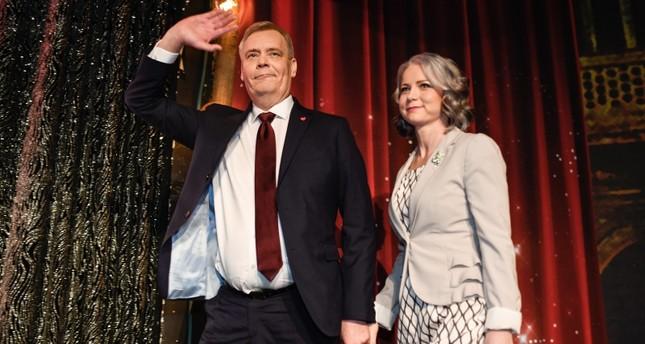 زعيم الحزب الاشتراكي الديمقراطي الفنلندي أنتي ريني