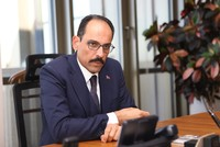No change in President Erdoğan's visit to Washington, Presidential Spokesperson Kalın says