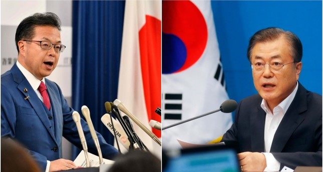 Japan drops South Korea from favored export partner list, ramping up