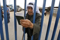 Gaza's border crossing into Egypt is running under the Palestinian Authority's control for the first time in a decade.  Egypt opened the Rafah crossing point Saturday for three days on a...
