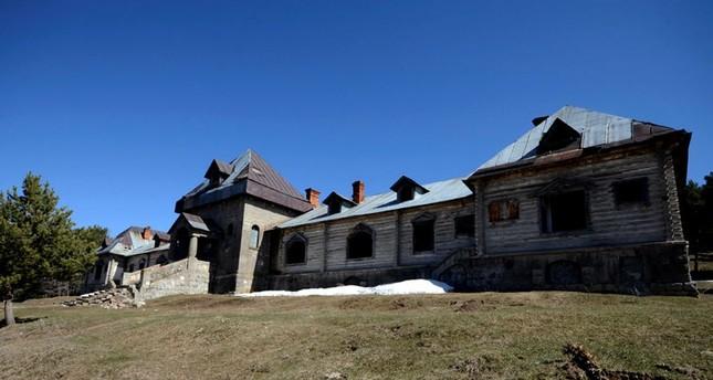 ترميم قصر القيصر نيكولاس الثاني الروسي في تركيا لاستخدامه في أغراض السياحة