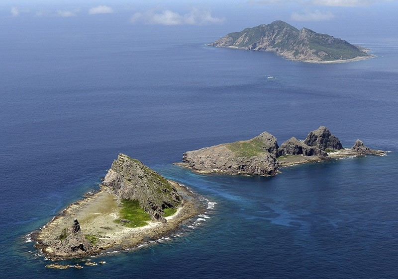 A view of the tiny islands in the East China Sea, called Senkaku in Japanese and Diaoyu in Chinese, which are claimed by both Japan and China. (AP File Photo)