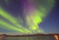 Wer schon immer mal ein Polarlicht sehen wollte, sollte sich in der Nacht warm einpacken und auf wolkenfreie Sicht hoffen.  Mit viel Glück könnten in den Nächten zu Freitag und zu Samstag in...