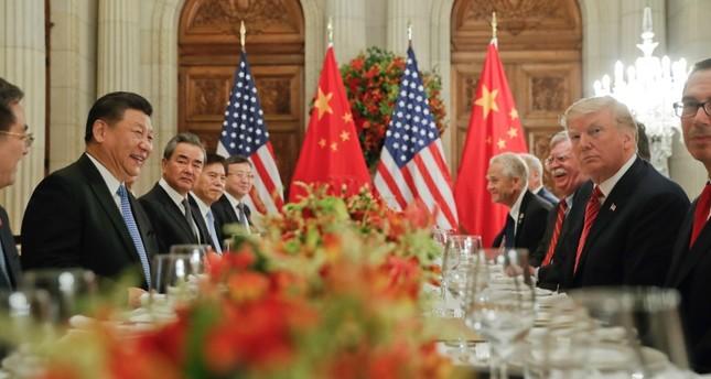 لقاء يجمع الرئيس الأمريكي بنظيره الصيني (الفرنسية)