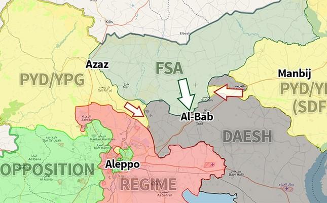 YPG advances west of Euphrates towards al-Bab despite US
