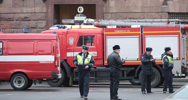 روسيا تعلن العثور على عبوة ناسفة أخرى في مترو سان بطرسبورغ