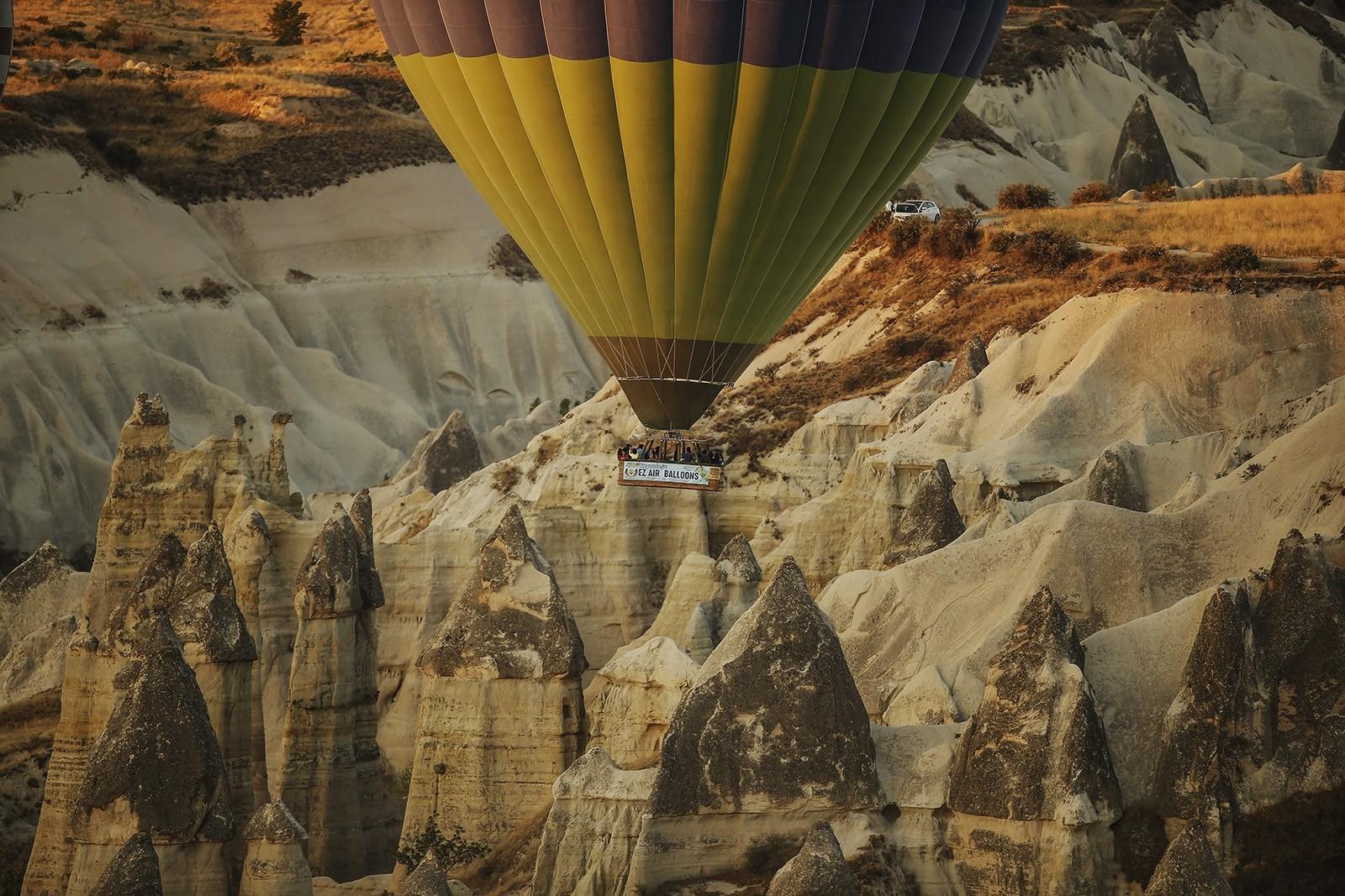 Полёт на воздушном шаре над Каппадокией на рассвете
