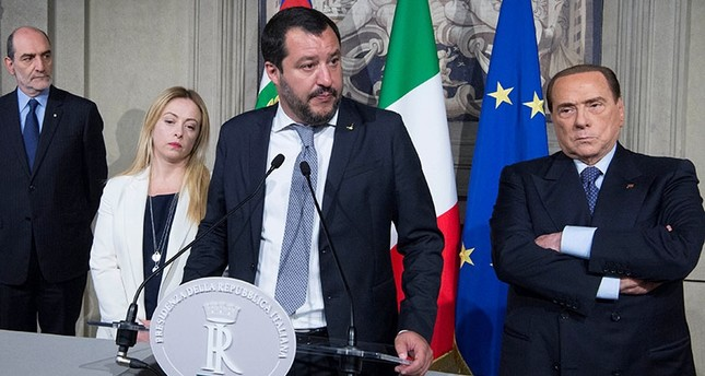Italy heads to caretaker gov't or polls as coalition talks