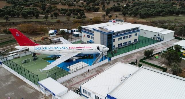 تعرف على المدرسة الطائرة بولاية إزمير غربي تركيا