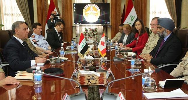 وزيرا دفاع أمريكا وكندا يصلان بغداد في زيارتين غير معلنتين