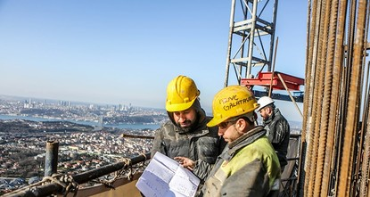 pPrime Minister Binali Yıldırım said Saturday that a new TV tower offering panoramic views of Istanbul would be completed within a month and open to visitors in June./p  pSpeaking at the site of...