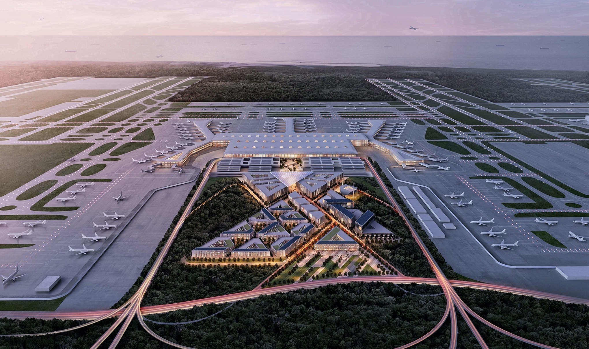 Istanbul New Airport is one of Turkeyu2019s largest construction project ever with investments of approximately 40 billion euros, planned to go operational in 2018.