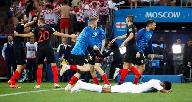 كرواتيا تتأهل للمرة الأولى إلى نهائي كأس العالم بعد هزيمة صعبة لإنكلترا