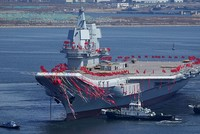 China on Wednesday launched its first domestically built aircraft carrier, which will join an existing one bought second-hand from the Ukraine, amid rising tensions over North Korea and worries...