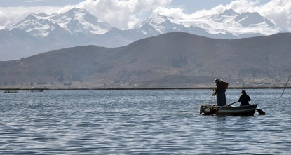 Cleaning up 'sacred' lake: Locals tackle Titicaca pollution