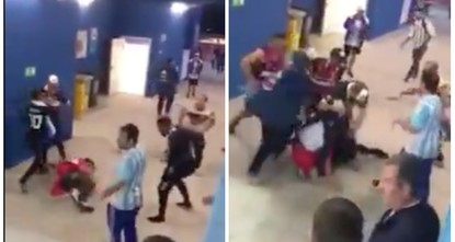 7 Argentina fans filmed fighting at World Cup detained