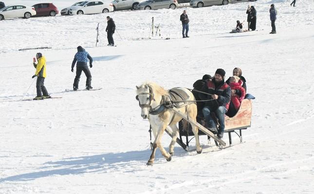 Troikas at Cıbıltepe Ski Center open for season