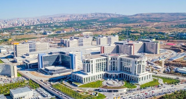 The Ankara City Hospital complex hosts eight different hospitals specializing in different fields of medicine.