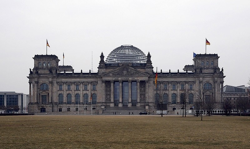 A general view shows the Reichstag building, the seat of the German lower house of parliament Bundestag, before the German presidential election in Berlin, February 12, 2017. (Reuters Photo)