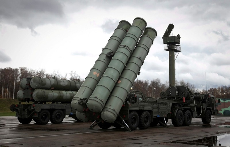 Russian S-300 air defense missile systems. (File Photo)