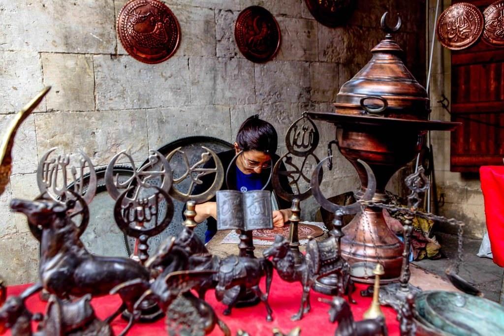 5-Coppersmiths Bazaar, Gaziantep