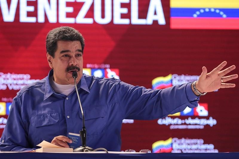 Venezuela's President Nicolas Maduro attends an event regarding the Cuba-Venezuela Comprehensive Agreement in Caracas, Venezuela Oct. 31, 2018. (Reuters Photo)