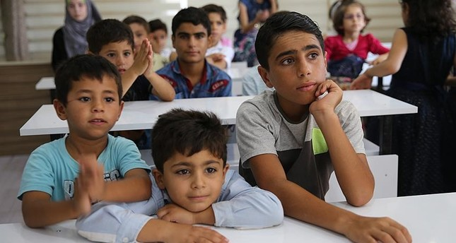 Syrian children closely follow the developments regarding the Idlib transition of the Turkish military in Syria since they want to return to their homes as soon as possible.