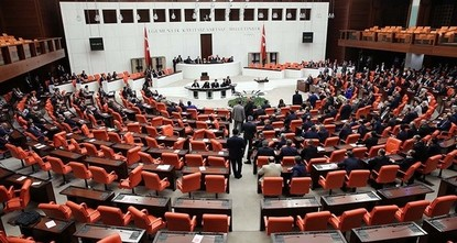 pTurkey's state of emergency was extended late Thursday by three months for the sixth time as parliament ratified the bill./p  pIn the previous vote for an extension on Oct. 17, 2017, the AK...