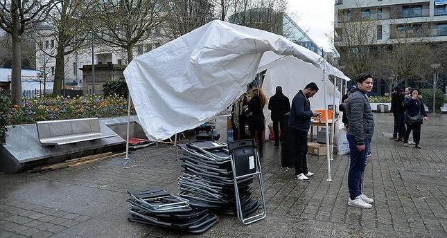 عمدة بروكسل يلغي فعالية لجمعيات مقربة من بي كا كا الإرهابية