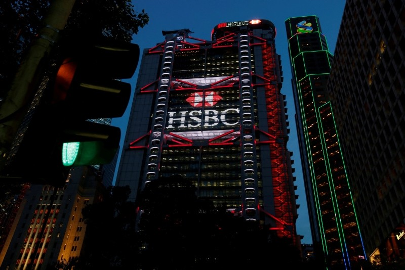 HSBC headquarters is seen at the financial Central district in Hong Kong, China September 6, 2017. (Reuters Photo)