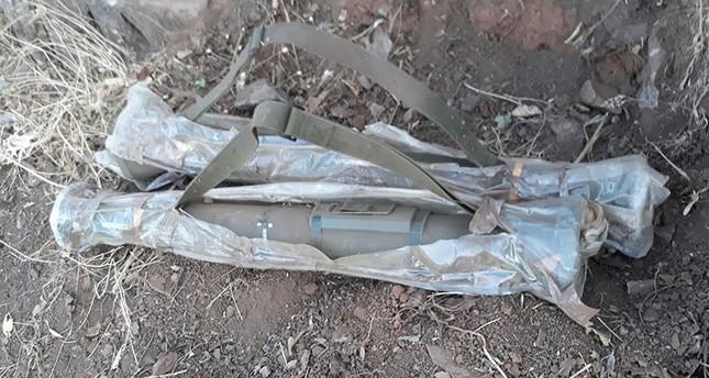 تركيا.. ضبط قاذفتي صواريخ سويدية الصنع بحوزة إرهابيي بي كا كا
