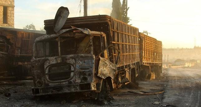 واشنطن: روسيا من نفذت الغارة على قافلة المساعدات الإنسانية بحلب
