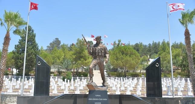 قبرص التركية تحيي ذكرى العملية العسكرية التركية لإحلال السلام في الجزيرة
