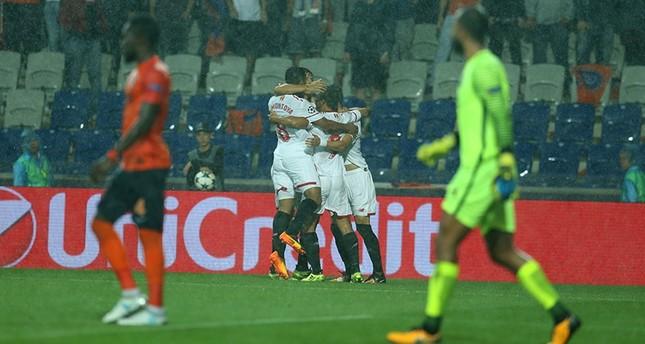 Başakşehir loses to Sevilla in Champions League playoff first leg