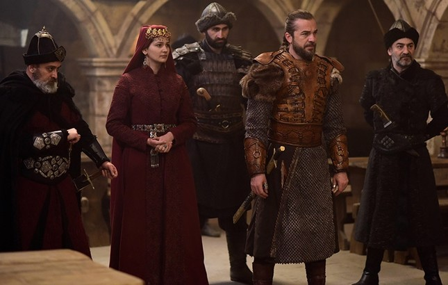 Scene from ''Diriliş Ertuğrul'' series. (Günaydın File Photo)