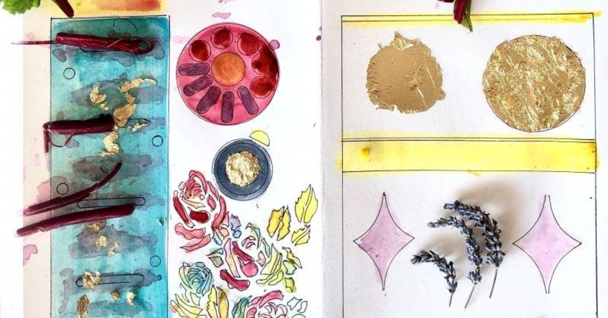 Participants of the ,Healing Pages, workshop will recreate old manuscripts with natural inks.