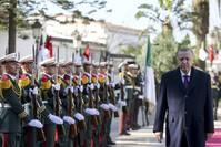 استقبال الرئيس التركي في الجزائر الأناضول
