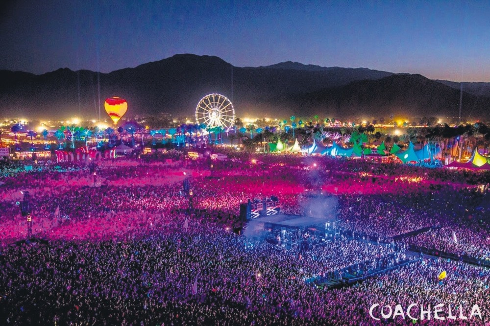 Coachella, which has turned into one of the worldu2019s most lucrative and influential festivals since its debut in 1999, takes place in the desert of southern California over two successive weekends in April with identical lineups for each.