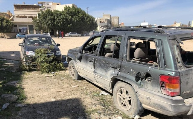 Libya's legitimate government has been under attack by Haftar's forces since last April, claiming the lives of more than 1,000 people. IHA PHOTO