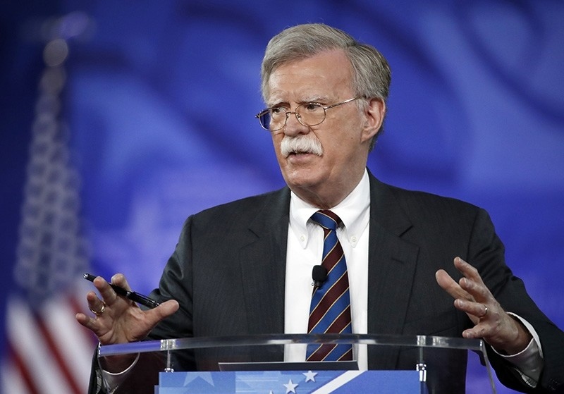 In this Feb. 24, 2017, file photo, former U.S. Ambassador to the U.N. John Bolton speaks at the Conservative Political Action Conference (CPAC) in Oxon Hill, Md. (AP Photo)