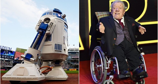 Star Wars actor Kenny Baker wasknown forplaying R2-D2 in Star Wars.