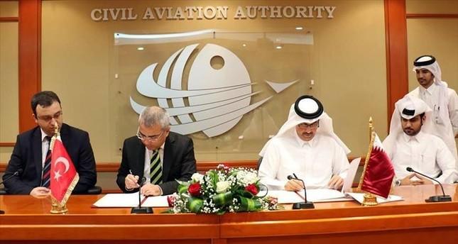 اتفاقية تركية-قطرية لتعزيز التعاون في مجال السلامة الجوية