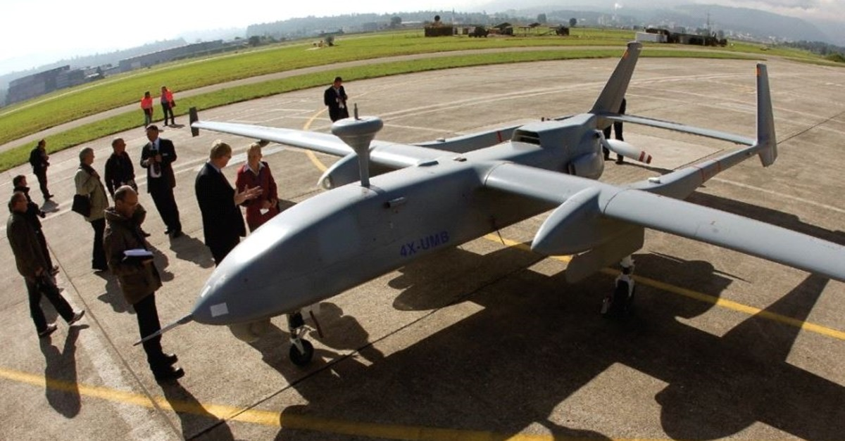 An Israeli drone (Reuters file photo)