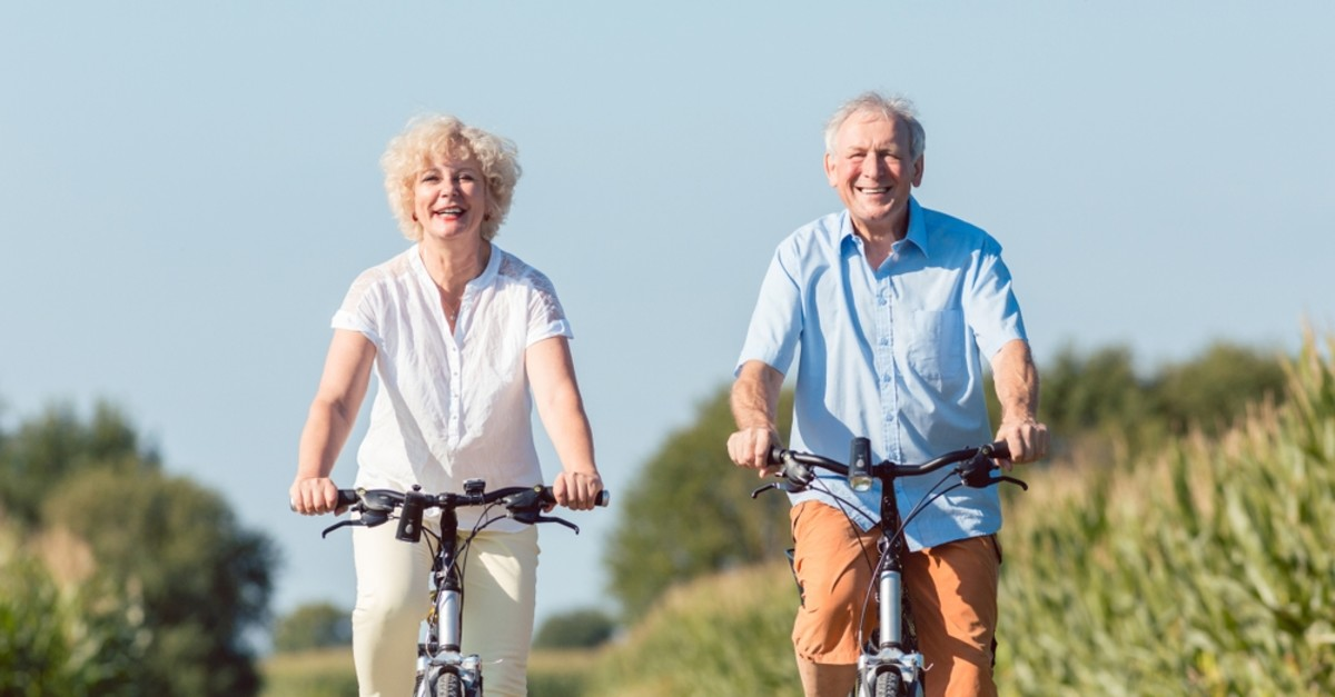 Regular exercise is an important element of growing old in a healthy way.