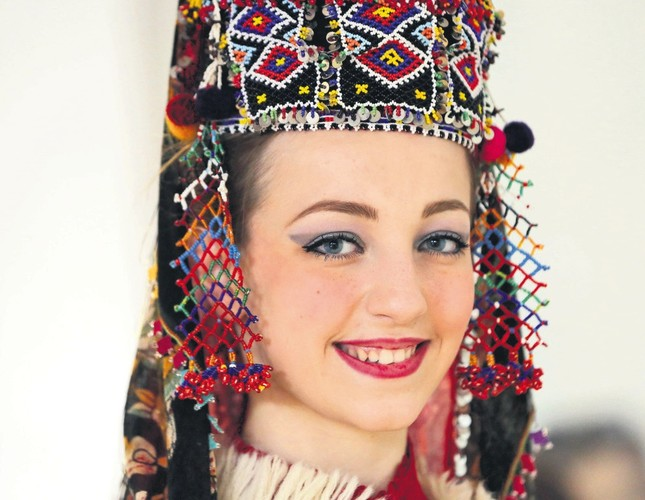 Turkish designer revives Anatolian bridal headwear