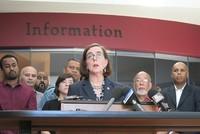 The mayor of Portland, Oregon, hailed as