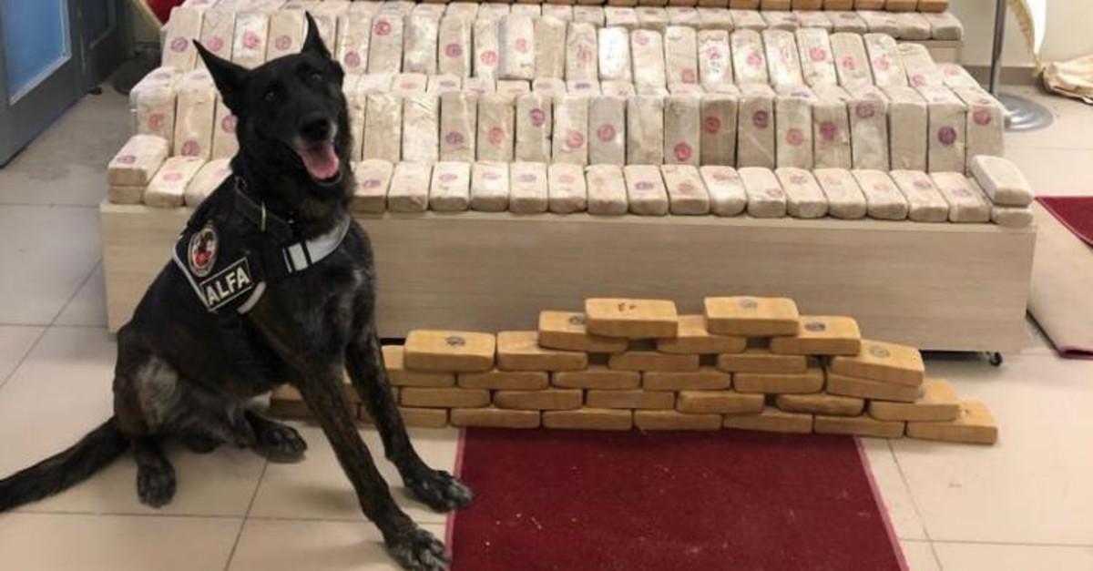 Police seized 152 kilograms of heroin in eastern Van province, July 25, 2019.