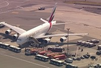 Emirates plane quarantined at New York's JFK airport after 10 passengers feel sick