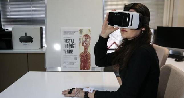 علماء أتراك يطورون علاجا للرهاب باستخدام تكنولوجيا الواقع الافتراضي