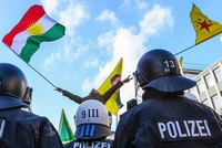 German police disperses Cologne rally of PYD/PKK terror supporters